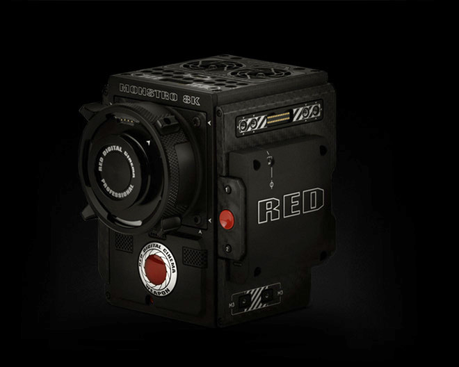 location camera red monster 8K VV